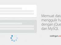 Memuat data saat menggulir halaman dengan jQuery PHP dan MySQL