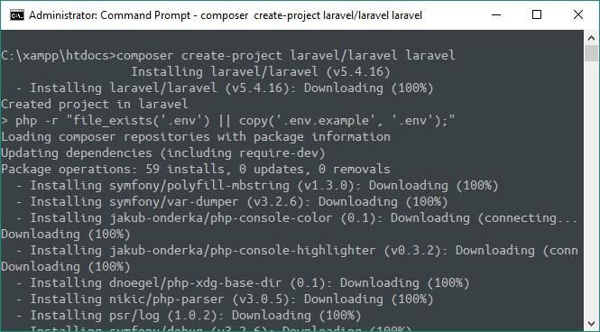 Cara Install Laravel